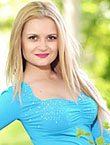 Photo of beautiful  woman Aleksandra with blonde hair and brown eyes - 18217
