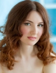 Photo of beautiful  woman Alena with light-brown hair and green eyes - 21563