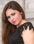Photo of beautiful  woman Alina with brown hair and green eyes - 23169