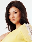 Photo of beautiful  woman Alina with black hair and brown eyes - 23553
