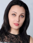 Photo of beautiful  woman Alla with black hair and blue eyes - 21295