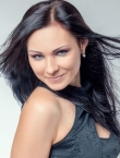 Photo of beautiful  woman Anastasia with black hair and green eyes - 21981