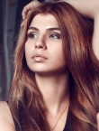 Photo of beautiful  woman Anastasia with light-brown hair and green eyes - 22704