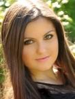 Photo of beautiful  woman Anastasiya with black hair and grey eyes - 20276