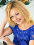 Photo of beautiful  woman Anna with blonde hair and brown eyes - 22901