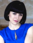 Photo of beautiful  woman Anna with black hair and brown eyes - 23159