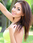 Photo of beautiful  woman Arina with black hair and brown eyes - 12287
