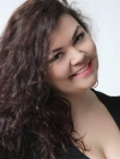 Photo of beautiful  woman Daria with black hair and hazel eyes - 21373