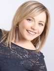 Photo of beautiful  woman Darina with blonde hair and grey eyes - 22899
