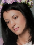 Photo of beautiful  woman Ekaterina with black hair and brown eyes - 20319