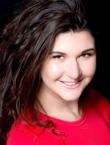 Photo of beautiful  woman Ekaterina with black hair and hazel eyes - 21078