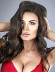 Photo of beautiful  woman Ekaterina with brown hair and grey eyes - 23836