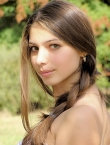 Photo of beautiful  woman Elena with brown hair and hazel eyes - 20243