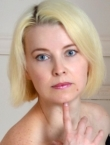 Photo of beautiful  woman Elena with blonde hair and blue eyes - 20632