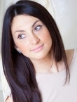 Photo of beautiful  woman Elena with brown hair and green eyes - 21471