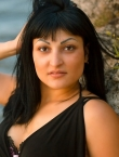 Photo of beautiful  woman Evgenia with black hair and brown eyes - 20523