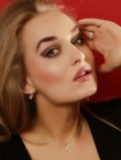 Photo of beautiful  woman Evgeniya with blonde hair and grey eyes - 20494