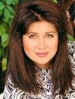 Photo of beautiful  woman Galina with brown hair and green eyes - 20641