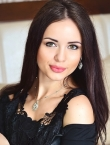 Photo of beautiful  woman Inna with black hair and green eyes - 23427