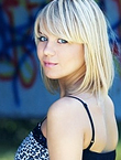 Photo of beautiful  woman Irina with blonde hair and blue eyes - 12195