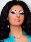Photo of beautiful  woman Irina with black hair and green eyes - 20602