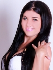 Photo of beautiful  woman Julia with black hair and green eyes - 20366