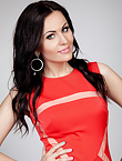Photo of beautiful  woman Juliya with black hair and green eyes - 17964
