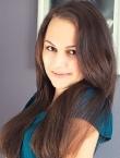 Photo of beautiful  woman Karina with light-brown hair and grey eyes - 22928