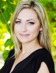 Photo of beautiful  woman Lilia with blonde hair and green eyes - 22355