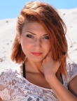 Photo of beautiful  woman Lilya with red hair and green eyes - 21226