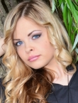 Photo of beautiful  woman Marina with light-brown hair and blue eyes - 20587