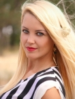 Photo of beautiful  woman Nataliya with blonde hair and blue eyes - 22326