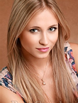 Photo of beautiful  woman Nelya with blonde hair and grey eyes - 12266