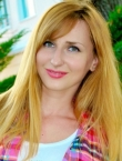 Photo of beautiful  woman Oksana with blonde hair and green eyes - 22858