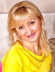 Photo of beautiful  woman Oksana with blonde hair and brown eyes - 23106