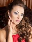 Photo of beautiful  woman Oksana with black hair and grey eyes - 23439
