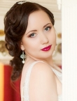 Photo of beautiful  woman Olga with brown hair and blue eyes - 23308