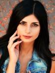Photo of beautiful  woman Svetlana with black hair and green eyes - 21876
