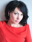 Photo of beautiful  woman Svetlana with black hair and brown eyes - 23447