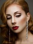 Photo of beautiful  woman Svetlanochka with red hair and grey eyes - 20475