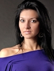 Photo of beautiful  woman Tatiana with black hair and blue eyes - 12325
