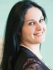Photo of beautiful  woman Tatyana with black hair and green eyes - 20028