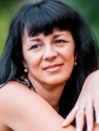 Photo of beautiful  woman Valentina with black hair and brown eyes - 20381