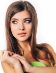 Photo of beautiful  woman Viktoria with light-brown hair and green eyes - 19604