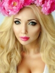 Photo of beautiful  woman Viktoria with blonde hair and blue eyes - 20621