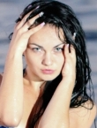Photo of beautiful  woman Viktoria with black hair and blue eyes - 22068