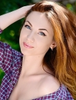 Photo of beautiful  woman Yana with brown hair and blue eyes - 23662