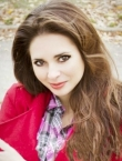 Photo of beautiful  woman Yulia with brown hair and brown eyes - 20600